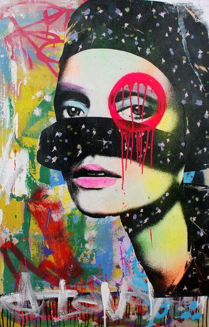 Graffiti Artist Dain Artsy Things Painting Etc