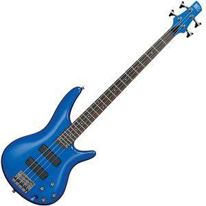 Ibanez SR300-SLB Bass Guitar, Starlight Blue