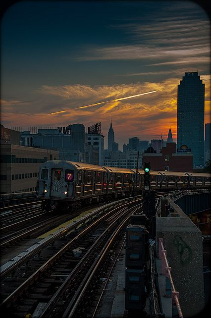 This makes me miss New York City. I loved taking the subway home from work. :)