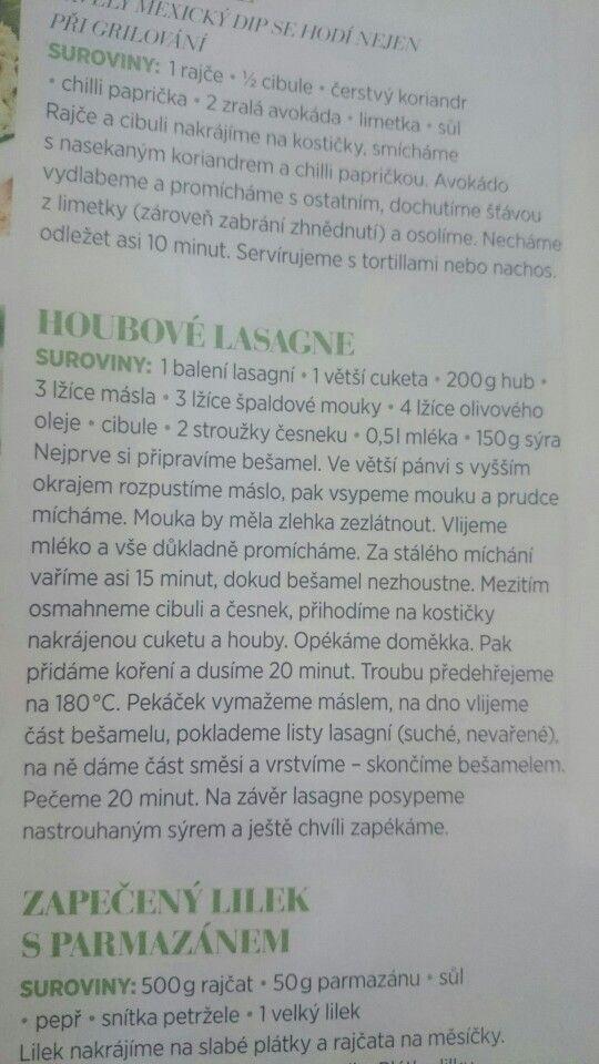 Houbove lasagne
