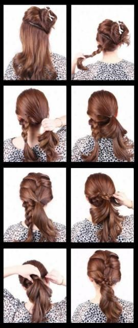 Schnell schöne Frisuren #einfache #haare #flechtf…
