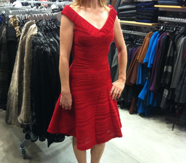Le Chateau has dresses made in Canada,