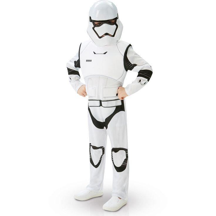 Déguisement de stormtrooper star wars vii - luxe pour l'anniversaire de votre enfant - Annikids