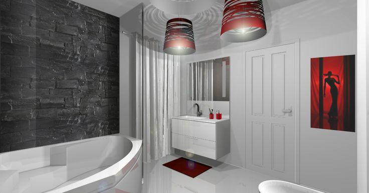 Et si nous complétions notre album #SalledeBain avec les réalisations de nos #AgencesFranchisees? Voici la salle de bain d'une suite parentale pour une villa au #Cameroun que notre #ArchitecteInterieur a réalisé