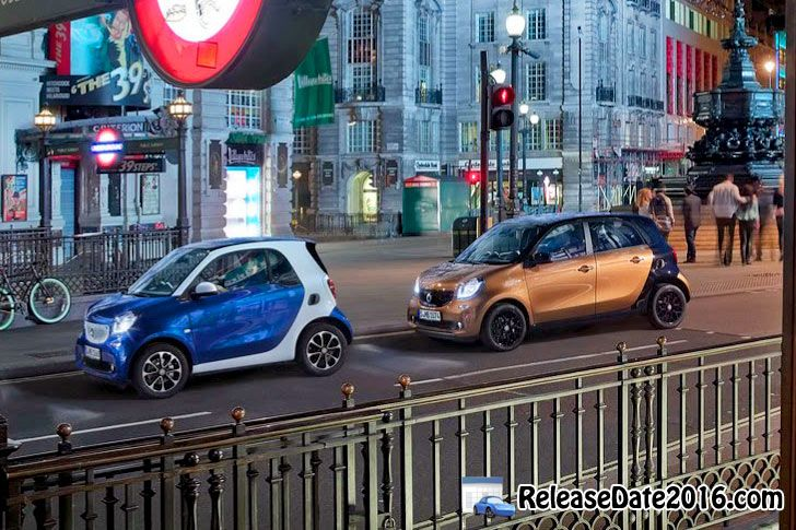 2015 Smart ForTwo & Smart ForFour