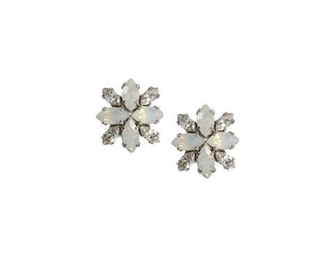 Liddy Crystal Stud by Elizabeth Bower available at The Bridal Atelier www.thebridalatelier.com.au @thebridalatelier #sheisthebridalatelierbride