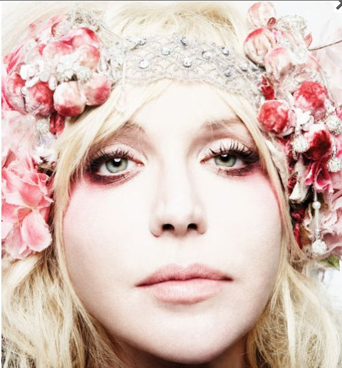 Courtney Love. THIS is why I wear flower crowns. Sorry to break it to ya, but shit was grunge before it was EDM.
