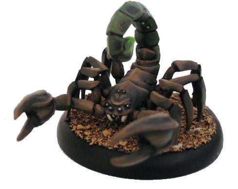 Giant Scorpion - Resin & Metal version