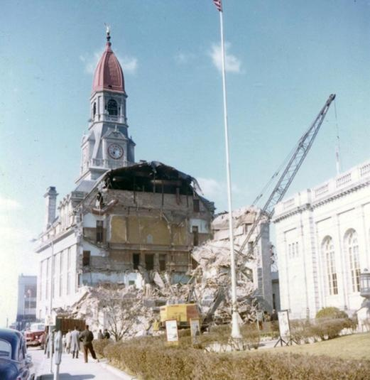 Fall Riveru0027s Old City Hall Demolition. The Arrogance And  Self Destructiveness Of Century America.