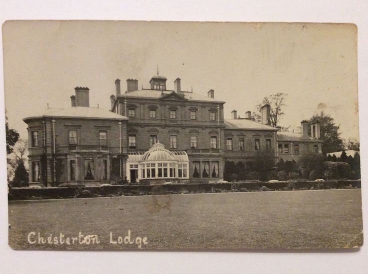 vintage postcard, Chesterton Lodge, Bicester, Bruern Abbey, Rp, Early View | eBay