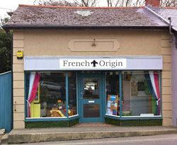 French Origin is in St. Agnes, in Cornwall run by Alfie inspired by her French heritage with vintage pieces