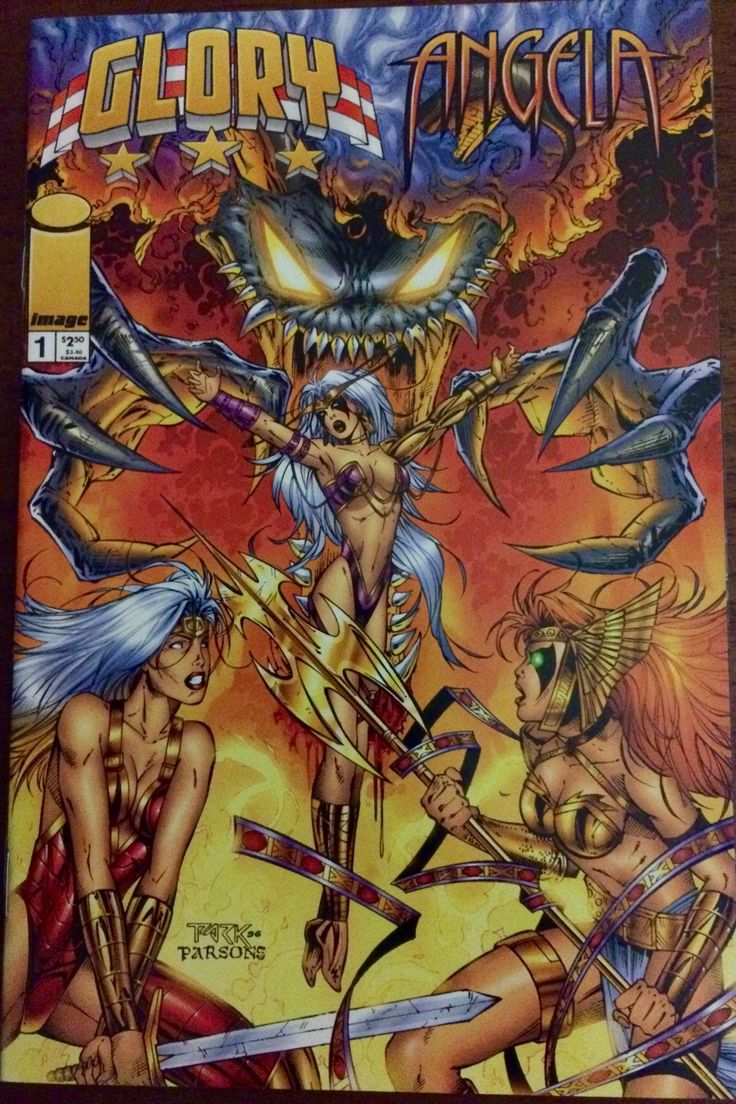 Cover Art by: Andy Park and Sean Parsons-1996