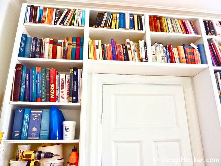 IKEA hack: BILLY bookshelves