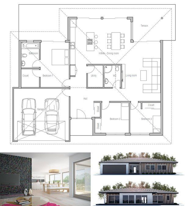 197 best Best Viral Family House Designs images on Pinterest   Home ...