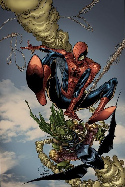 #Spiderman #Fan #Art. (Spidey Wizard Cover spidey) By: Javilaparra. ÅWESOMENESS!!!™ ÅÅÅ+