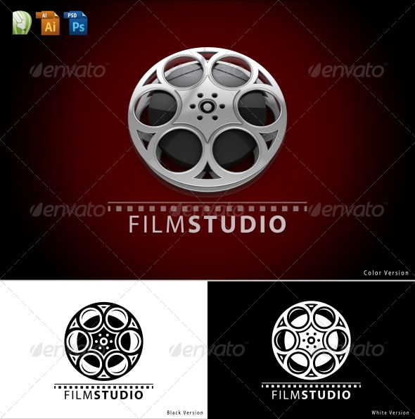Film Studio Logo  #GraphicRiver         An excellent logo template suitable for film studio, production house, broadcast etc.  	 	 This is a layered logo template! 		 Photoshop (PSD) file in 3000×3000 pixels! 		 Adobe Illustrator (AI) file included! 		 CorelDraw (CDR) file included! 	  	 	 Please don't forget to rate if you like it  	     Created: 14May12 GraphicsFilesIncluded: PhotoshopPSD #AIIllustrator #CorelDRAWCDR Layered: Yes MinimumAdobeCSVersion: CS Resolution: 3000x3000 Tags: 3d…