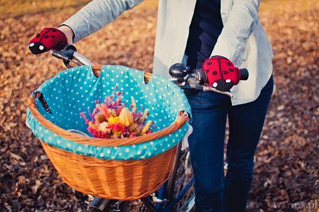 Ocieplacze rowerowe rękawiczki biedronki - WarmYourself - Ocieplacze na ręce