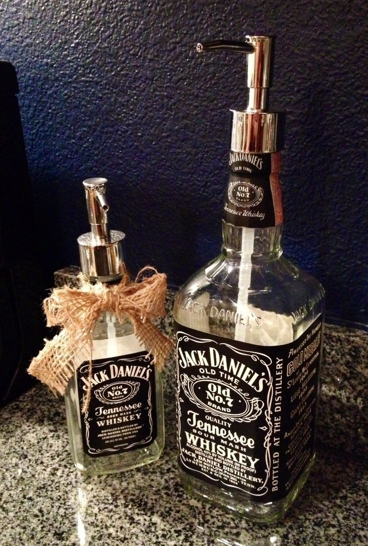 DIY Jack Daniels Soap Dispenser - 18 Creative DIY Ideas That Revive Old Objects