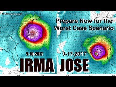 Hurricane Irma & Jose = Prepare & Plan for the Worst Case Scenario NOW! - YouTube