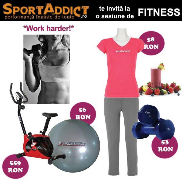 Alege un antrenament fitness de acasa, cu acest echipament colorat