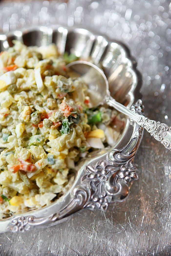 FROM RUSSIA WITH LOVE: The ultimate Russian Potato Salad – Salad Olivier