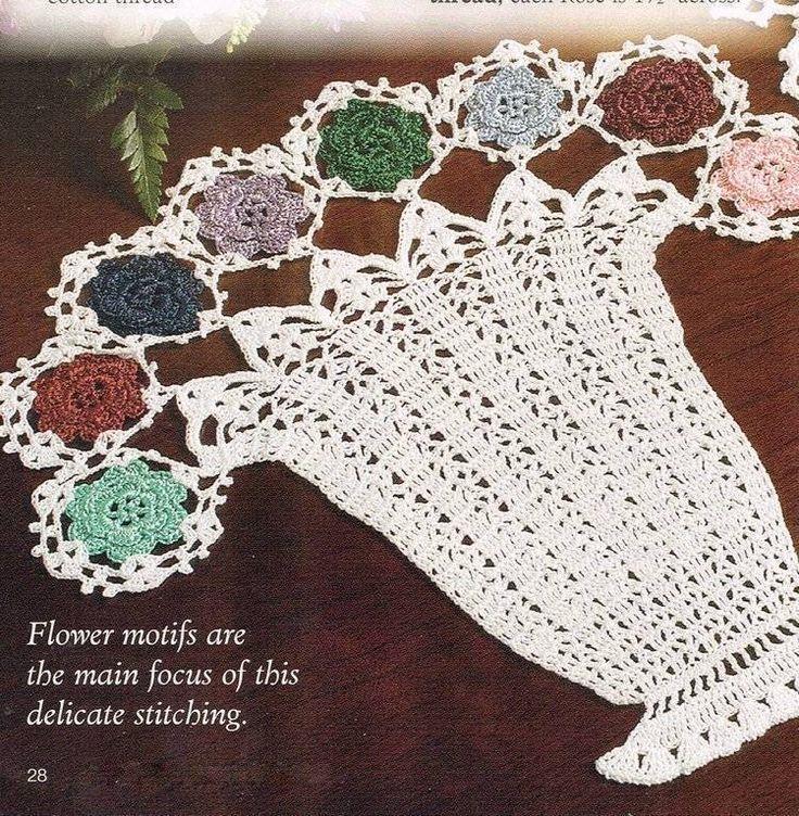 252 best Doily Crochet Patterns images on Pinterest | Crochet ...