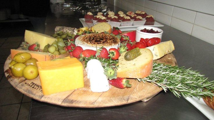 Late Night Cheese Platter