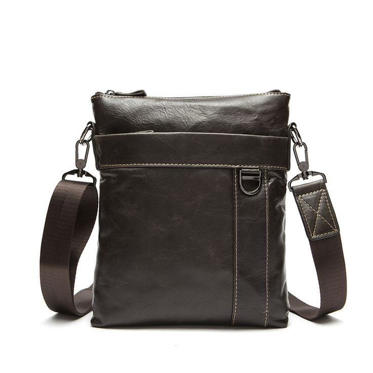 26.13$  Buy here  - Casual Genuine Leather Men's Messenger Bags Man Portfolio Office Bag Quality Travel Shoulder Handbag for Man 2016 Dollar Price