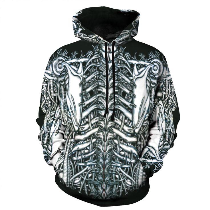 Fashion Brand 3D Skull&Bones Hoodies for Men //Price: $37.45 & FREE Shipping //     #3dwear