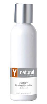 Y Natural Organic Skincare - 200 BUFF Marine Skin Polish - 125ml