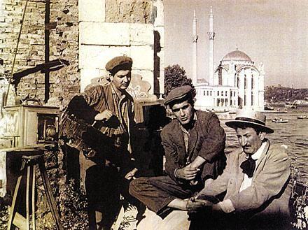 Üç Arkadaş, 1958 #istanbul #ortakoy #istanlook