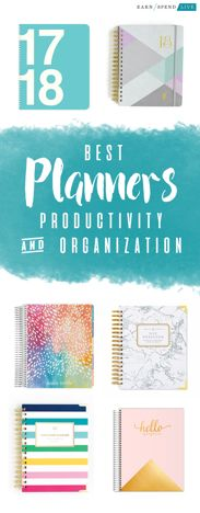 Best Planner for Organization and Productivity in 2018, Best 2018 Planners, Best 2018 Day Planners, Best 2018 Weekly Planners, Best planner for 2018, best planners