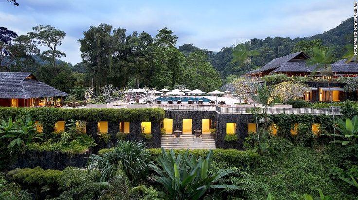 Far pavilions: The Datai Langkawi.