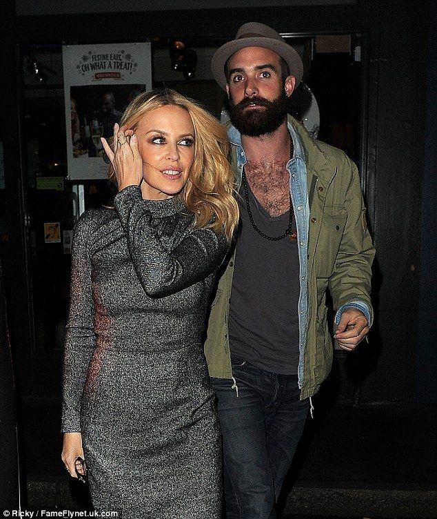 They do: Kylie Minogue and her toyboy boyfriend Joshua Sasse have confirmed their engagement after a flurry of rumours