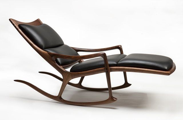 Rocking Lounge Chair by Sam Maloof