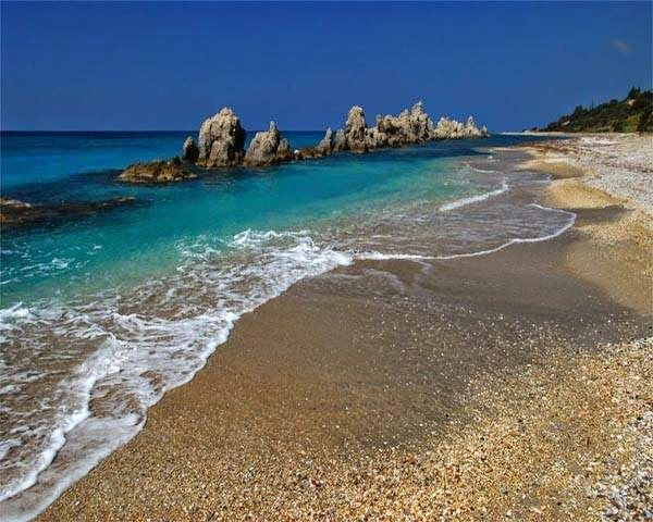 Explore Unknown Greece with a Greek: Rocks in the Ionian Sea