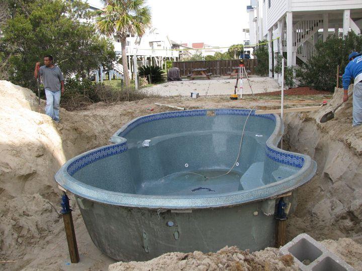 Fiberglass Pools Demand Far Less Maintenance Than Both