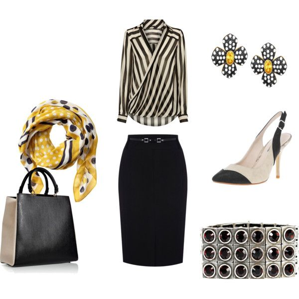 Stripes by fabafter40 on Polyvore