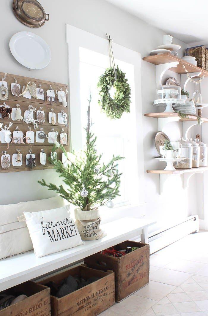 465 best Christmas Merry White images on Pinterest