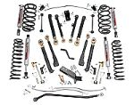 Rough Country Suspension Jeep® 97-06 TJ Wrangler 6 inch X Series Suspension Kit