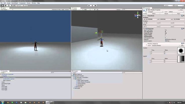cienie !!!!!!!!!!!!!!! Unity: Introduction to Projectors