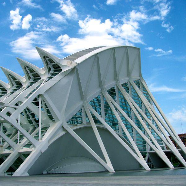 El Museu de les Ciències Príncipe Felipe Valencia Spain