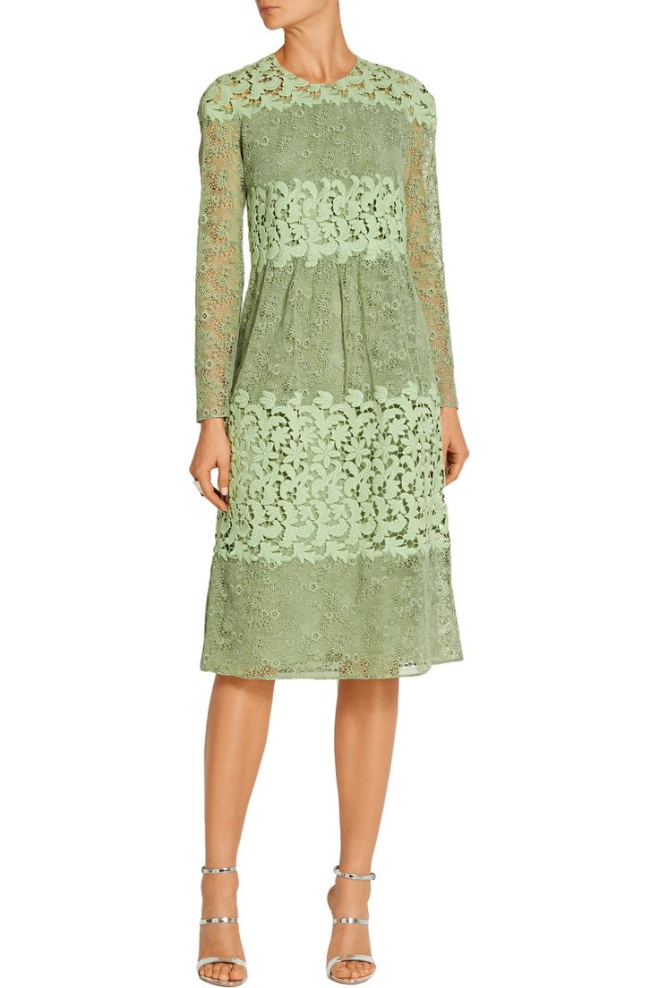 Shop on-sale Burberry Paneled cotton-blend lace dress. Browse other discount designer Dresses & more on The Most Fashionable Fashion Outlet, THE OUTNET.COM