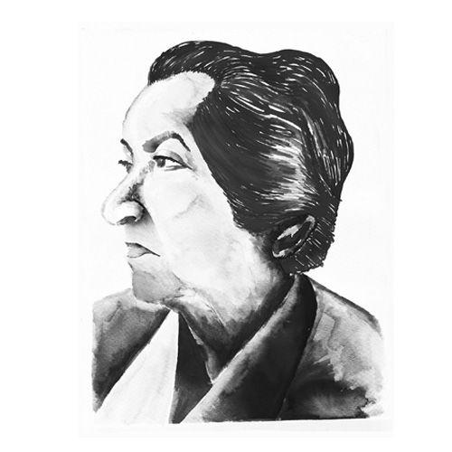 """Ilustraciones que realicé para Vino """"Tierra de Poetas"""". Vino de Chileno. Gabriela Mistral."""