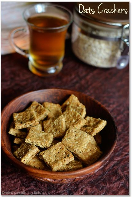 Oats Savoury Crackers | MRT/LEAP Diet | Pinterest