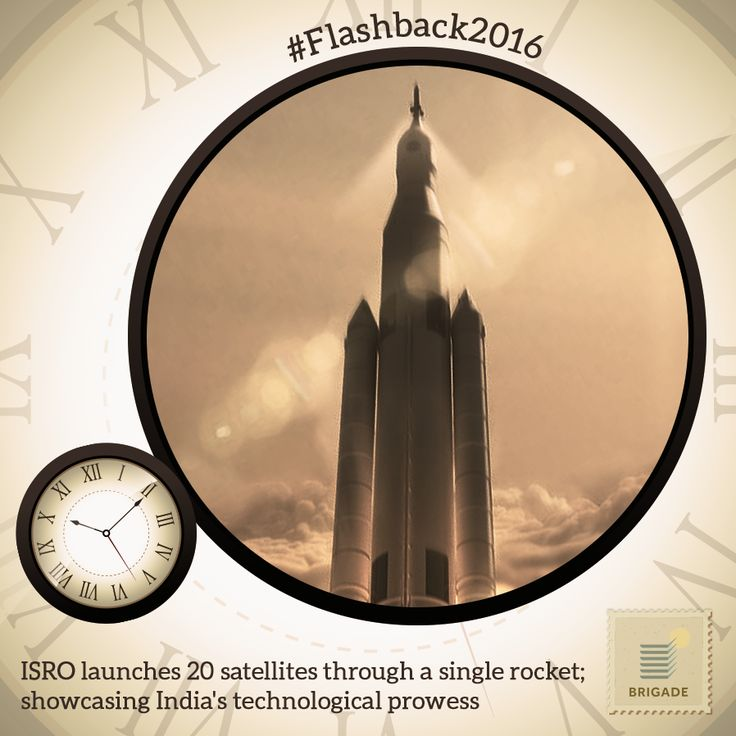 #ISRO's #PSLV successfully launched 20 #satellites in a single flight.