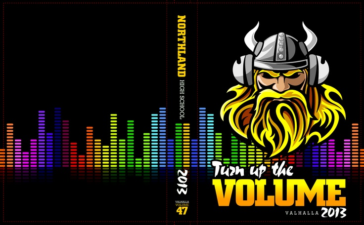 Theme: Turn Up the Volume | Yearbook Covers | Pinterest ...