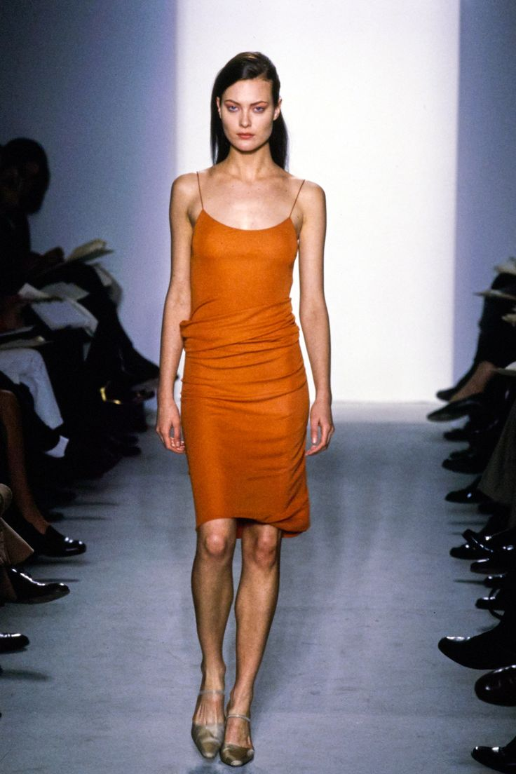 Calvin Klein Collection Fall 1997 Ready-to-Wear Fashion Show - Shalom Harlow