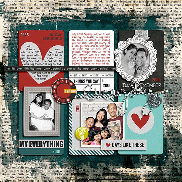 Everyday Love [Bundle Pack] by Pixelily Designs.