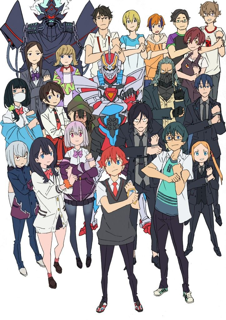 pin by 人ゲノム on ssss gridman cute anime character anime characters manga art